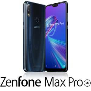 ZB631KL-BL64S4 エイスース ASUS ZenFone Max Pro (M2) ミッドナイトブルー 6.3インチ SIMフリースマートフォン[マルチキャリア対応:docomo/au/Y!mobile VoLTE]