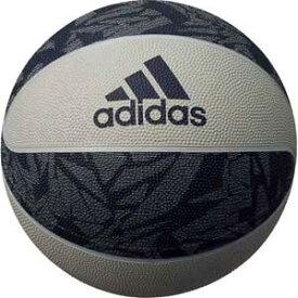 AB7125NV アディダス バスケットボール 7号球 (ゴム) adidas バスケットボール シャドースクワッド (グレー×ネイビー)