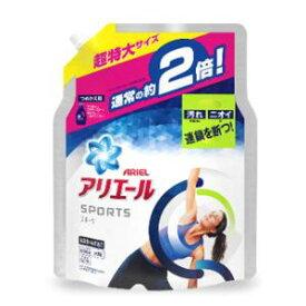 アリエール イオンパワージェル プラチナスポーツ つめかえ用 超特大 P&GJapan アリエ-ルGPスポ-ツツメカエ1340