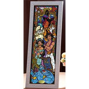 ディズニー ステンドアート アラジン ステンドグラス ぎゅっと456ピース ジグソーパズル テンヨー 【Disneyzone】