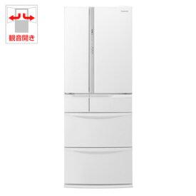 (標準設置料込)NR-FV45S5-W パナソニック 451L 6ドア冷蔵庫(ハーモニーホワイト) Panasonic
