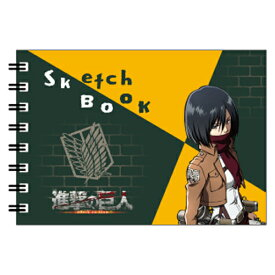 HH0072 ヒサゴ 『進撃の巨人』 ミニ図案スケッチブック(ミカサ)