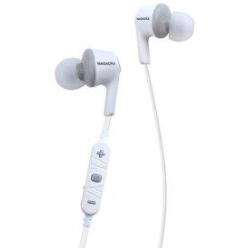 BT807WGR ナガオカ Bluetooth対応 カナル型イヤホン(ホワイトグレー) NAGAOKA