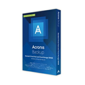 Acronis Backup Standard Virtual Host and CloudStorage 500GB SL1Y アクロニス ※パッケージ版