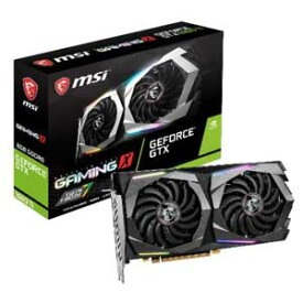 1660 TI GAMING X 6G MSI PCI-Express 3.0 x16対応 グラフィックスボードMSI GeForce GTX 1660 Ti GAMING X 6G