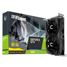 ZT-T16600F-10L ZOTAC PCI-Express 3.0 x16対応 グラフィックスボードZOTAC GAMING GeForce GTX 1660 6GB GDDR5