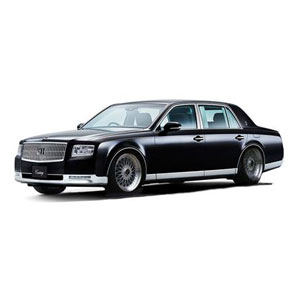 1/43 Toyota Century (UWG60) Black BB-Wheel【IG1728】 ignitionモデル