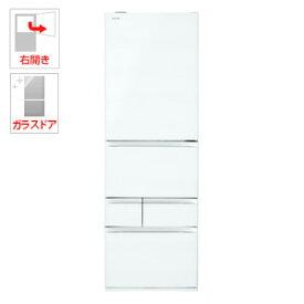 (標準設置料込)GR-R500GW-UW 東芝 501L 5ドア冷蔵庫(クリアグレインホワイト)【右開き】 TOSHIBA