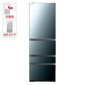 (標準設置料込)GR-R500GW-XK 東芝 501L 5ドア冷蔵庫(クリアミラー)【右開き】 TOSHIBA