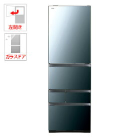 (標準設置料込)GR-R500GWL-XK 東芝 501L 5ドア冷蔵庫(クリアミラー)【左開き】 TOSHIBA