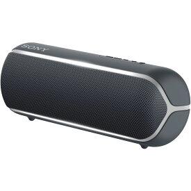 SRS-XB22-B ソニー 防塵防水対応 Bluetoothスピーカー(ブラック) SONY