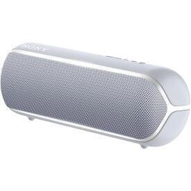 SRS-XB22-H ソニー 防塵防水対応 Bluetoothスピーカー(グレー) SONY