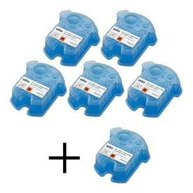 CCR5CR ブラウン アルコール洗浄システム専用洗浄液カートリッジ【5個+1個入】 BRAUN クリーン&リニューシステム用 [CCR5CR]