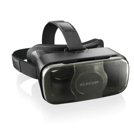 VRG-S01BK エレコム VRグラス(スタンダードタイプ)(ブラック)