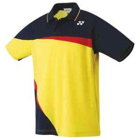 YO 10306 279 L ヨネックス ユニセックス ゲームシャツ(ライトイエロー・サイズ:L) YONEX