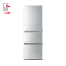 (標準設置料込)GR-R36S-S 東芝 363L 3ドア冷蔵庫(シルバー)【右開き】 TOSHIBA 片開きタイプ