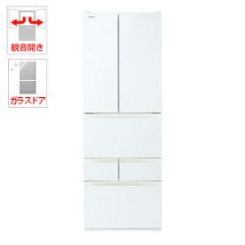 (標準設置料込)GR-R510FH-EW 東芝 509L 6ドア冷蔵庫(グランホワイト) TOSHIBA FHシリーズ