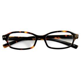 GLR-11-8+1.5 デューク 老眼鏡 (度数:+1.50)φ50 ネオクラシック DEUX リーディンググラス(ブラウン)