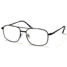 DR-95 2.5 デューク 老眼鏡 (度数:+2.50)φ55 スタンダードシンプル メタルフレーム AGING Opti (エイジングオプティ)