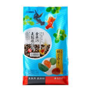 金魚の麦飯珠砂利 1.5kg スドー キンギヨバクハンタマジヤリ1.5K