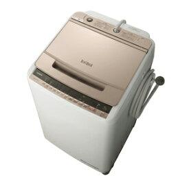 (標準設置料込)BW-V100E-N 日立 10.0kg 全自動洗濯機 シャンパン HITACHI ビートウォッシュ