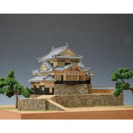 1/150 木製模型 備中松山城 ウッディジョー