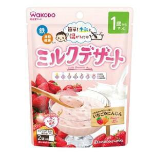 ミルクデザート いちごとにんじん 30g×2袋 アサヒグループ食品 ミルクデザ-トイチゴニンジン