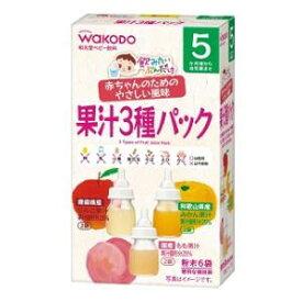 飲みたいぶんだけ 果汁3種パック アサヒグループ食品 カジユウ3シユパツク 5GX6