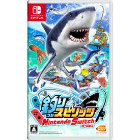 【特典付】【Nintendo Switch】釣りスピリッツ Nintendo Switchバージョン バンダイナムコエンターテインメント [HAC-P-AS4HA NSW ツリスピリッツ]