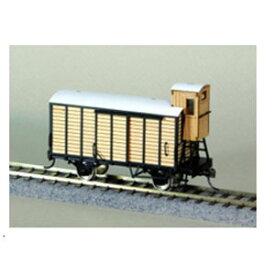 [鉄道模型]コスミック (HO) HT-836K 制動手室付有蓋車フワ30000形組立キット