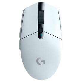 G304RWH ロジクール 2.4GHzワイヤレス 光学式ゲーミングマウス 6ボタン ホワイト Logicool G304 LIGHTSPEED Wireless Gaming Mouse