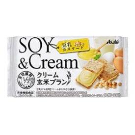 バランスアップ クリーム玄米ブラン 豆乳カスタード(2枚×2袋) アサヒグループ食品 クリ-ムゲンマイBトウニユウカスタ-ト