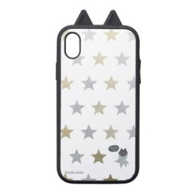 I32BKS01 サンクレスト iPhone XR用 衝撃吸収ケース KUSUKUSU IJOY(星ねこ)