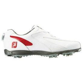 45187W27 フットジョイ メンズ・ゴルフシューズ (ホワイト×レッド・サイズ:27.0cm) footjoy EXL スパイク ボア