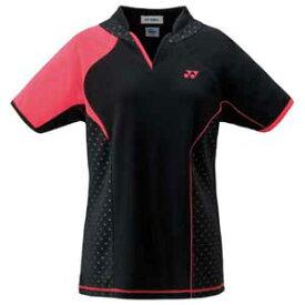 YO 20443 007 XO ヨネックス レディース ゲームシャツ(ブラック・サイズ:XO) YONEX