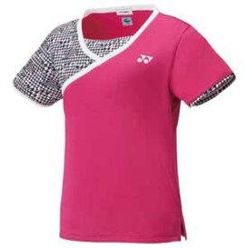 YO 20496 654 XO ヨネックス レディース ゲームシャツ(ベリーピンク・サイズ:XO) YONEX