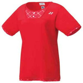 YO 20499 496 XO ヨネックス レディース ゲームシャツ(サンセットレッド・サイズ:XO) YONEX