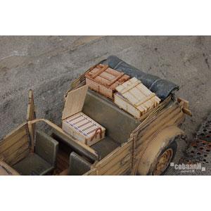 1/35 フロントラインシリーズ ww2 ドイツ軍7.92mm1500発入弾薬木箱【FS-002】 cobaanii mokei工房(コバアニ模型工房)