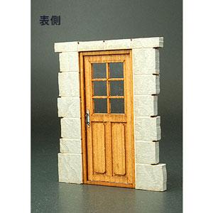 1/35 フロントラインシリーズ ヨーロッパの家のドアC【FS-015】 cobaanii mokei工房(コバアニ模型工房)