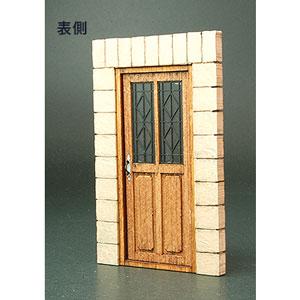 1/35 フロントラインシリーズ ヨーロッパの家のドアD【FS-016】 cobaanii mokei工房(コバアニ模型工房)