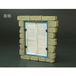 1/35 フロントラインシリーズ ヨーロッパの家の窓B(ルーバータイプ)【FS-019】 cobaanii mokei工房(コバアニ模型工房)