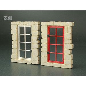 1/35 フロントラインシリーズ ヨーロッパの家の窓C(2組入)【FS-020】 cobaanii mokei工房(コバアニ模型工房)