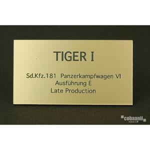 フロントラインシリーズ PANZER TITLE WW2ドイツタイガー 後期生産型【FS-028】 cobaanii mokei工房(コバアニ模型工房)