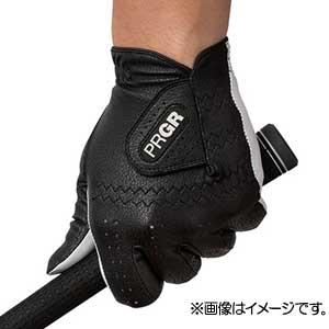 GG568124 プロギア ゴルフグローブ 左手用(ブラック・24cm) レザーコンポジットモデル PG-119