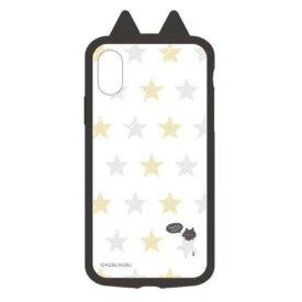 I32AKS01 サンクレスト iPhone XS/X用 衝撃吸収ケース KUSUKUSU IJOY(星ねこ)