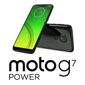 PAEK0002JP Motorola(モトローラ) moto g7 power セラミックブラック [6.2インチ / メモリ 4GB / ストレージ 64GB]