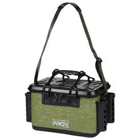 PX966240AG プロックス EVAタックルバッカン ロッドホルダー付 40サイズ(アーミーグリーン) PROX バッカン タックルバック