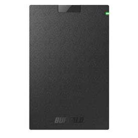 SSD-PG480U3-B/NL バッファロー USB3.1(Gen1)対応 外付けポータブルSSD 480GB【PlayStation4/4 PRO 動作確認済】【簡易パッケージモデル】 WEB限定商品の為、パッケージは簡素化