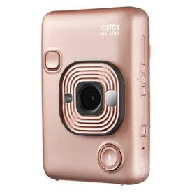 MINIHM1BLUSHGOLD 富士フイルム ハイブリッドインスタントカメラ チェキ「instax mini LiPlay」(ブラッシュゴールド) FUJIFILM