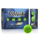 VOLVIK-AMTGRN ボルビック ゴルフボール ビビッド エックスティー エーエムティー(グリーン) 1ダース 12個入り VOLVIK VIVID XT AMT